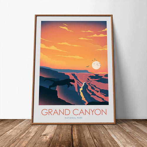 Grand Canyon National Park Print Poster
