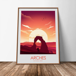 Arches National Park Print Poster