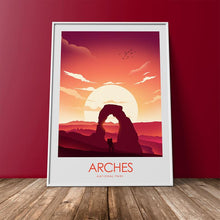 Load image into Gallery viewer, Arches National Park Print Poster