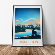 Load image into Gallery viewer, Grand Teton National Park Print Poster