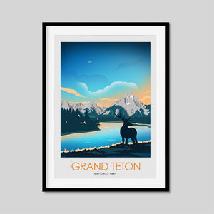 Grand Teton National Park Print Poster