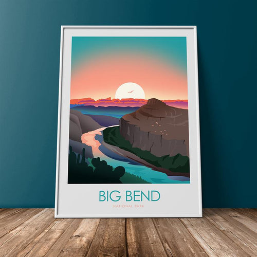 Big Bend National Park Print Poster
