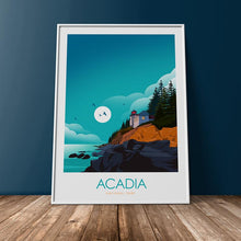 Load image into Gallery viewer, Acadia National Park Print Poster