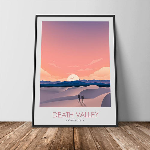 Death Valley National Park Print Poster