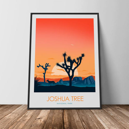 Joshua Tree National Park Print Poster