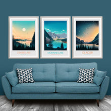 Load image into Gallery viewer, Glacier National Park Print Poster