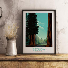 Load image into Gallery viewer, Sequoia National Park Print Poster