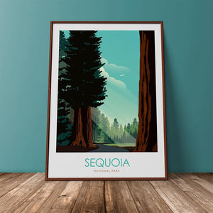 Sequoia National Park Print Poster