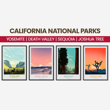 Load image into Gallery viewer, Yosemite National Park Print Poster