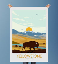Load image into Gallery viewer, Yellowstone National Park Print Poster