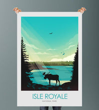 Load image into Gallery viewer, Isle Royale National Park Print Poster