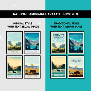 Isle Royale National Park Print Poster