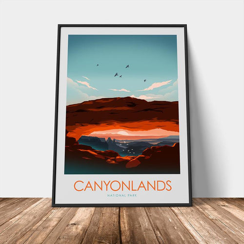 Canyonlands National Park Print Poster