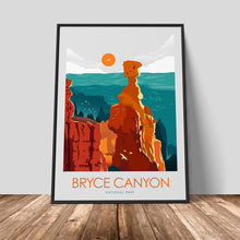 Load image into Gallery viewer, Bryce Canyon National Park Print Poster