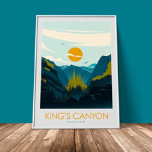 Load image into Gallery viewer, Kings Canyon National Park Print Poster