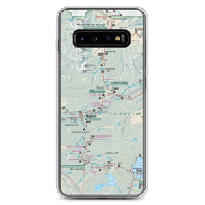 Yellowstone Map Samsung Case