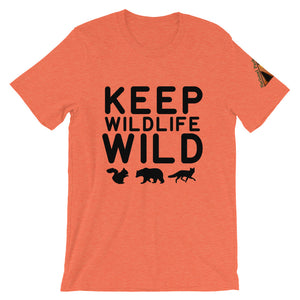 Keep Wildlife Wild Black Text