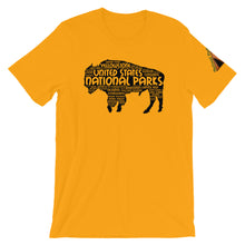 Load image into Gallery viewer, 62 National Parks Bison in Black Shirt