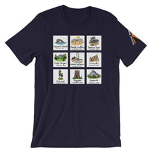 Load image into Gallery viewer, California National Parks Short-Sleeve T-Shirt
