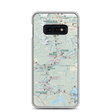 Load image into Gallery viewer, Yellowstone Map Samsung Case