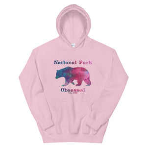 National Park Obsessed Bear Hoodie