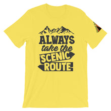 Load image into Gallery viewer, Always take the Scenic Route Shirt