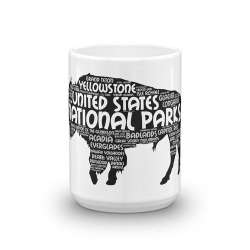 62 National Park Bison Mug