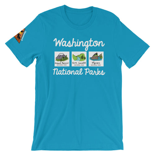 Washington National Park Short-Sleeve T-Shirt