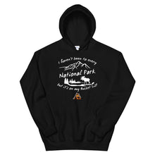 Load image into Gallery viewer, National Parks are on my Bucket List T-Shirts Hooded Sweatshirt