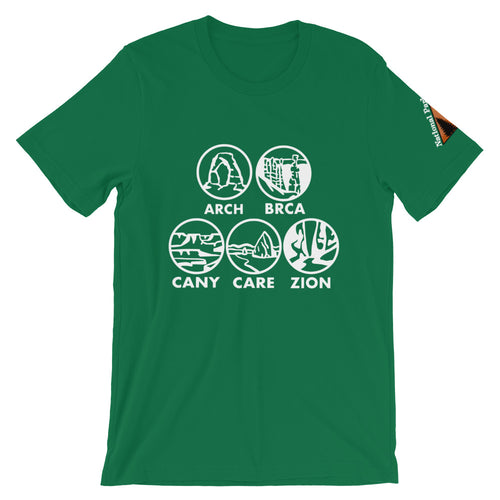 Utah National Parks Shirt - Variation 1