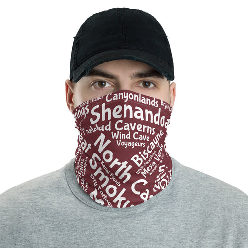 62 National Park Neck Gaiter - Wine
