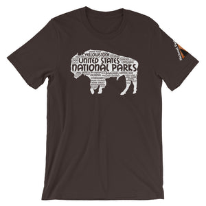 62 National Park Bison in White Shirt