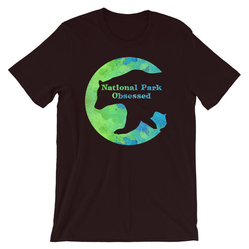 National Park Obsessed Bear Shirt