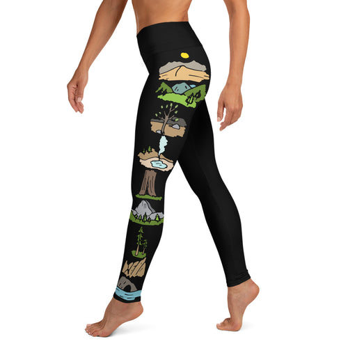 California National Parks Leggings