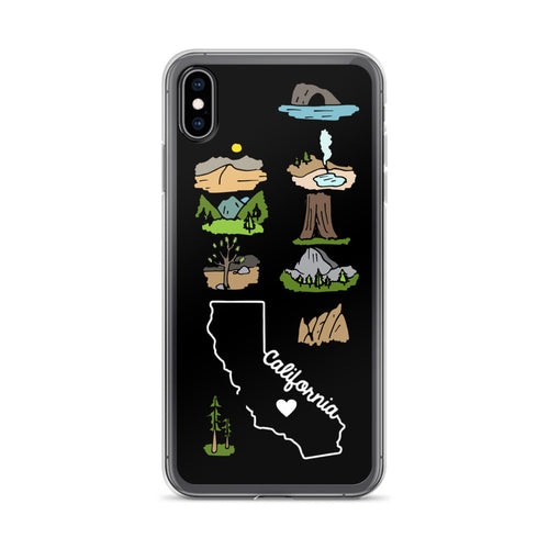 California National Parks iPhone Case