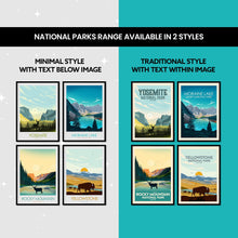 Load image into Gallery viewer, Jasper National Park Print Poster