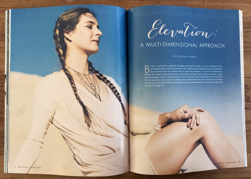 elevation collection jewelry design belle armoire article brianna lamar