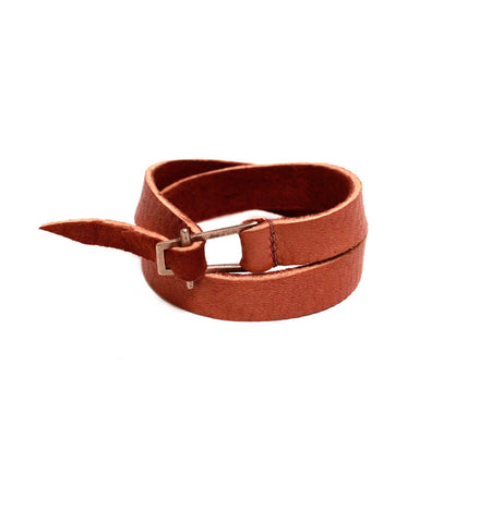 Evyn Double Leather Wrap