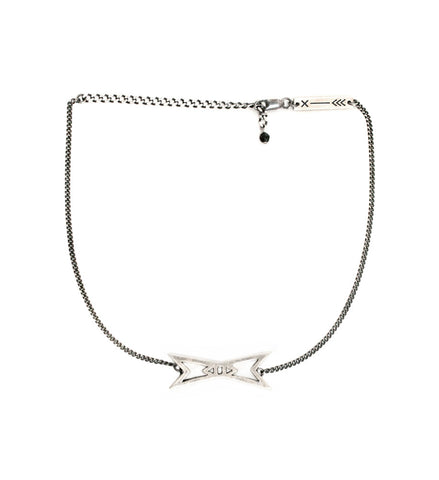 Pointed Bow Choker