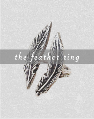 the double feather ring