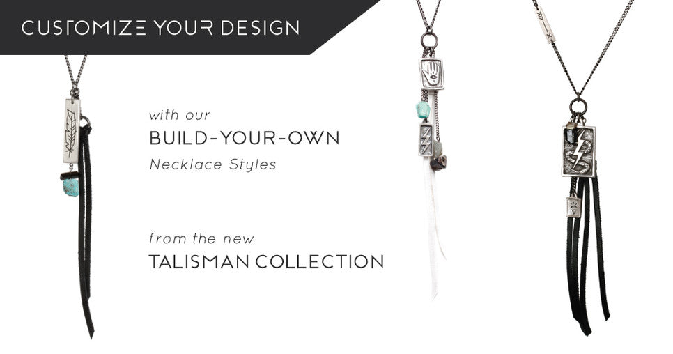 custom necklace build your own style talisman