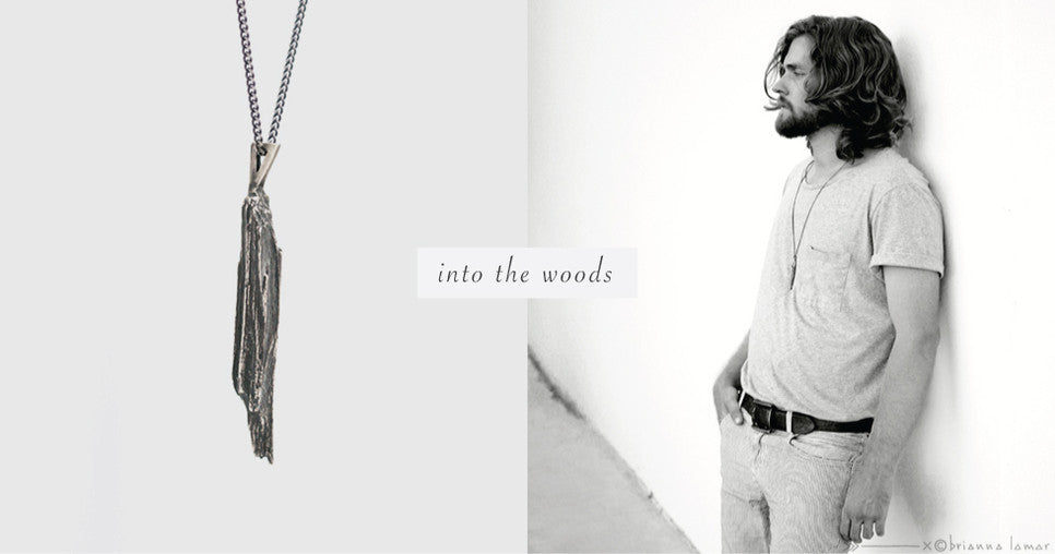 into the woods pendant men's jewelry unisex