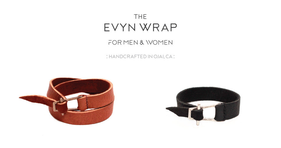 unisex leather wraps