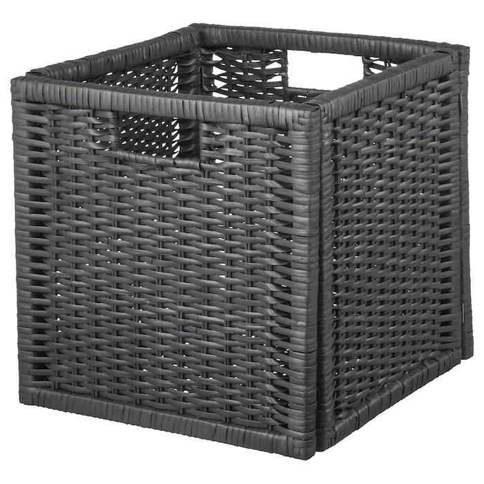 BRANAS basket, Dark grey