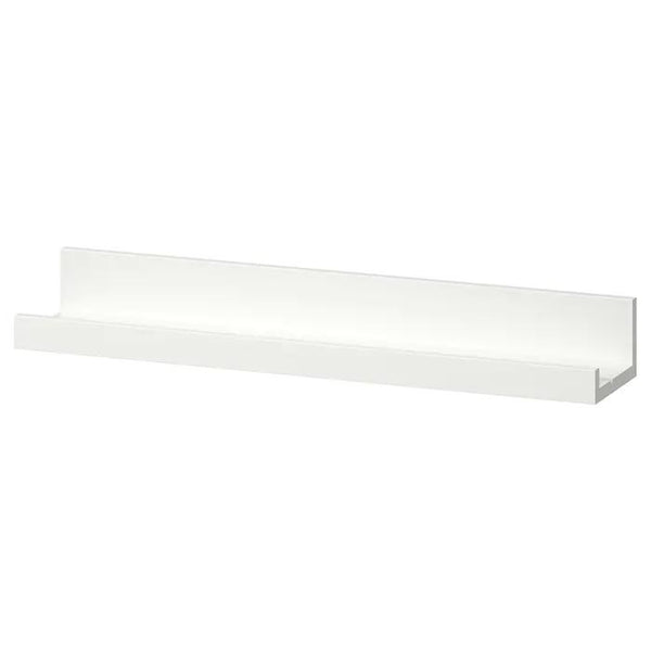 MOSSLANDA picture ledge, 55cm, White