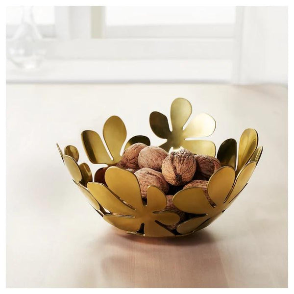 STOCKHOLM Bowl, 20cm, Gold colour