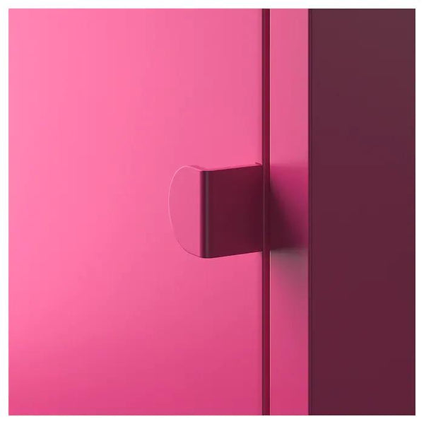 LIXHULT Cabinet, 25x25cm, Metal/pink