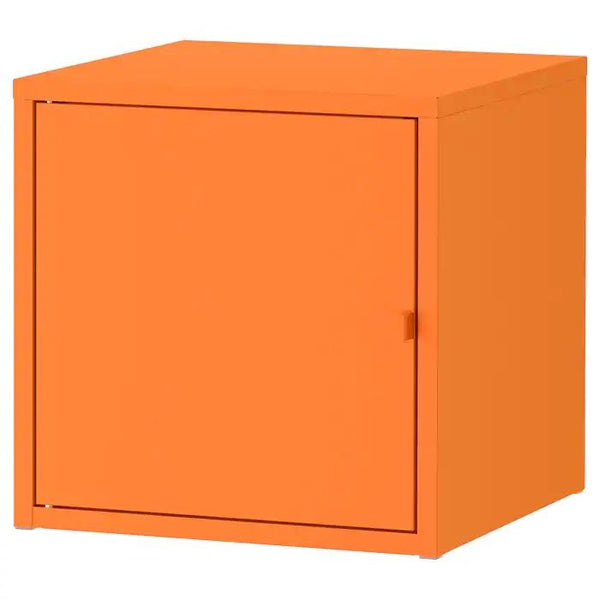 LIXHULT Cabinet, 35x35cm, Metal/orange