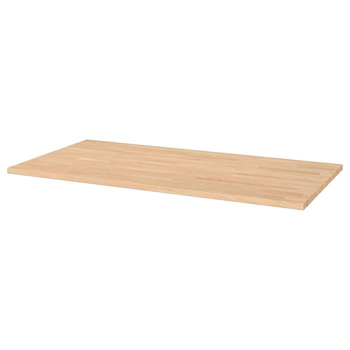GERTON Table top, 155x75cm, Solid wood beech