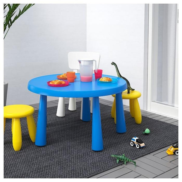 MAMMUT Children's table, 85cm, Blue